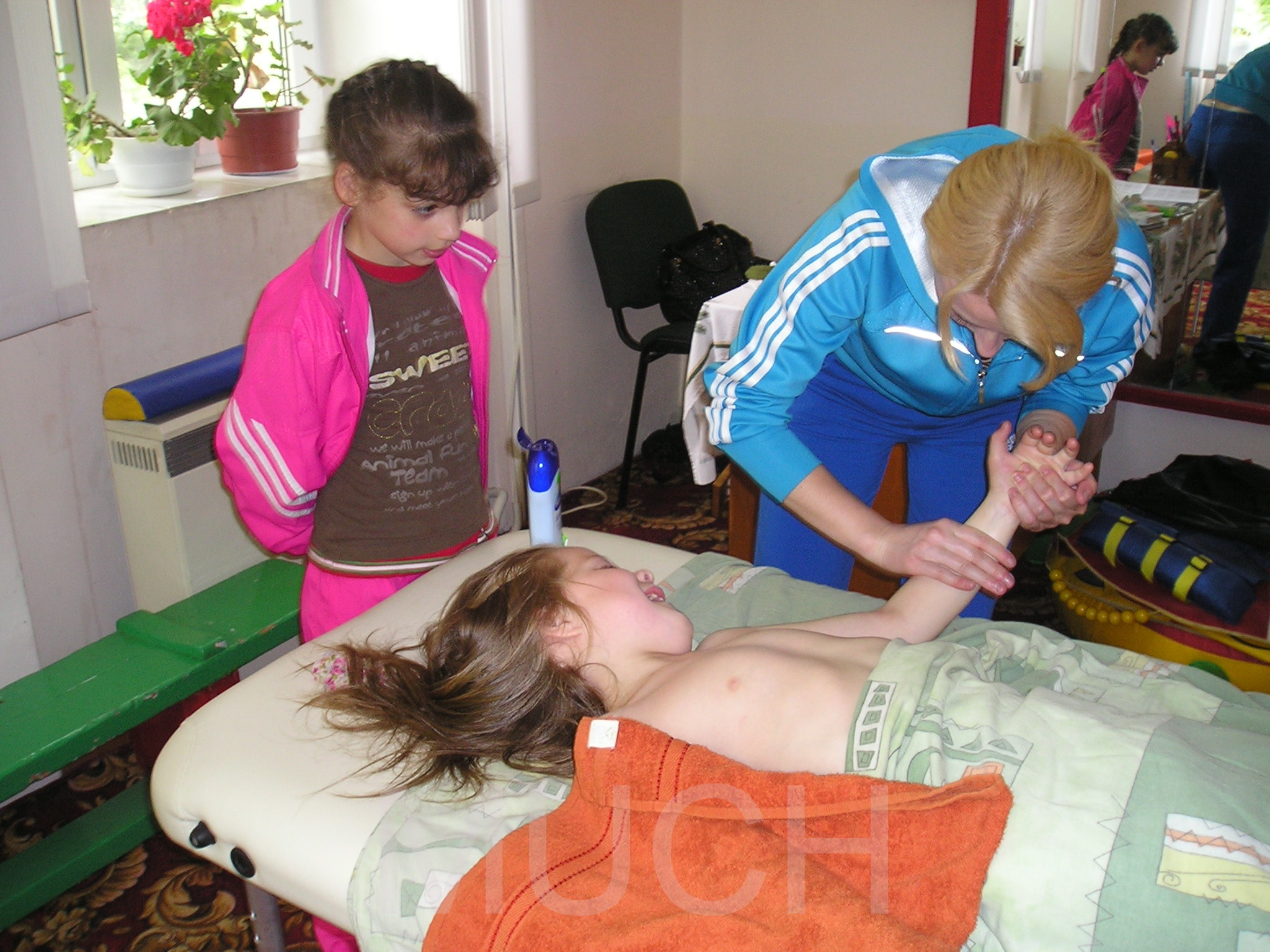 I also want to be a massage therapist!