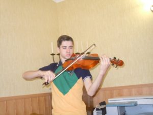 Artur, student of music